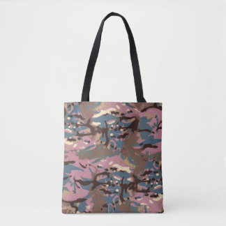 Camo Camo, don't blend in with the crowd! Tote Bag