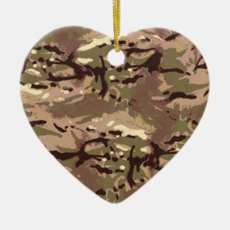 Camo Camo, Wherefore Art Thou? LIDJ Design. Ceramic Heart Decoration