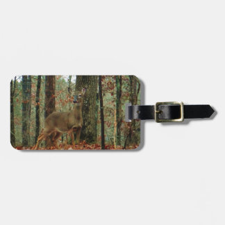 Camo,Camouflage Deer Luggage Tag