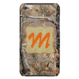 Camo Camouflage Huntin Monogram Initial IPOD Touch Case-Mate iPod Touch Case