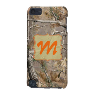 Camo Camouflage Huntin Monogram Initial IPOD Touch iPod Touch 5G Cover