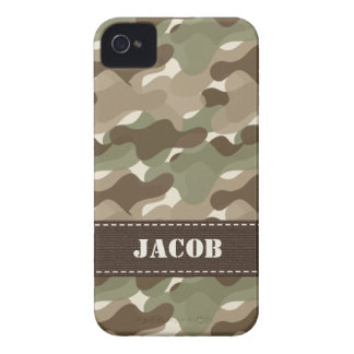 Camo Camouflage iPhone 4 Case Mate Barely There