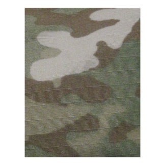 camo Camouflage Pattern 21.5 Cm X 28 Cm Flyer