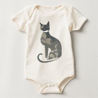 Camo Cat Infant Baby Bodysuit