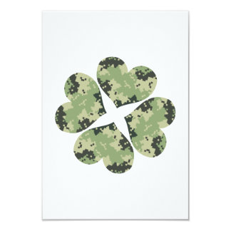 Camo Clover Personalized Announcement