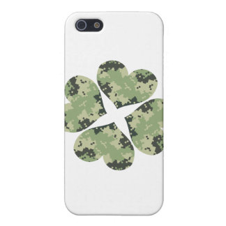 Camo Clover iPhone 5 Covers