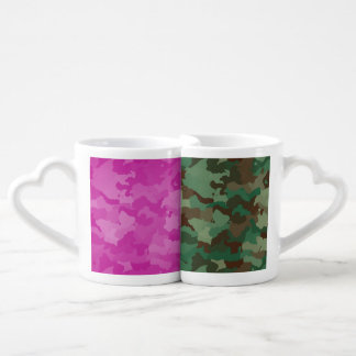 Camo Coffee Mug Set