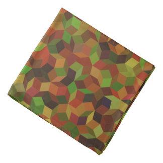 Camo Color Penrose Tiling Bandana