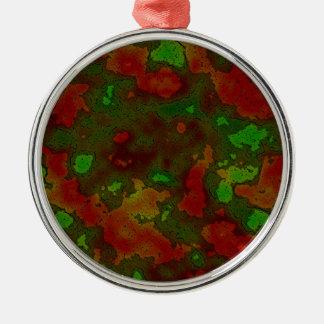 camo colour splash ornaments