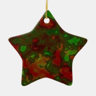 camo colour splash ornament