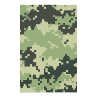 Camo Customized Stationery