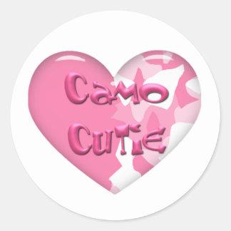 Camo Cutie stickers