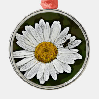 Camo Daisy Christmas Ornament