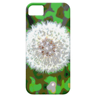 Camo Dandelion iPhone 5 Case
