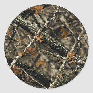 Camo Design - Camouflage Gifts Classic Round Sticker