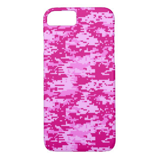CAMO DIGITAL PINK iPhone 7 CASE