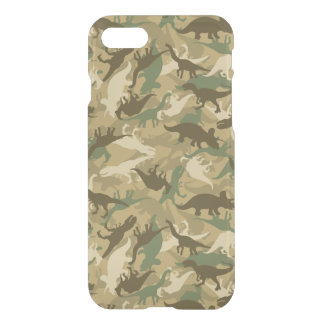 Camo Dinosaur Smart Phone Case