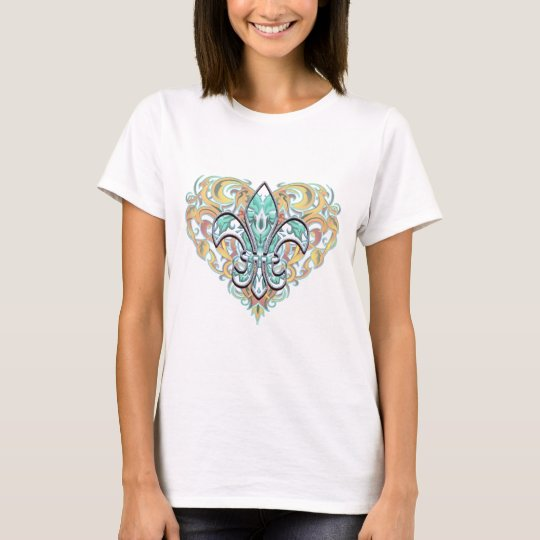 Camo Fleur De Li T-Shirt