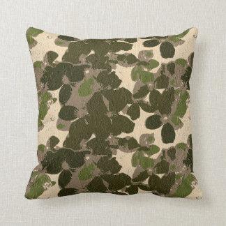 Camo Floral Cushion