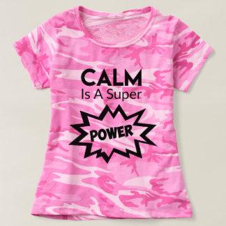 Camo Funny Calm Shirt