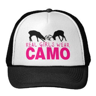 CAMO GIRL TRUCKER HAT