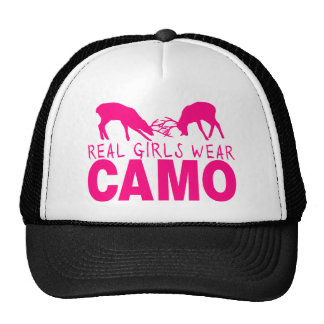 CAMO GIRL TRUCKER HATS