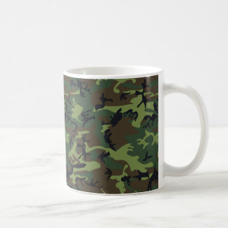 [CAMO-GR-1] Green and brown camo Coffee Mug