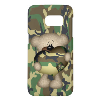 Camo Heart Military Teddy Bear