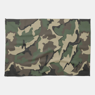Camo, Kitchen Towel
