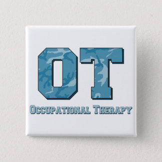 camo letters blue 15 cm square badge