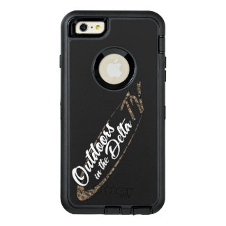 Camo Logo OtterBox Defender iPhone Case