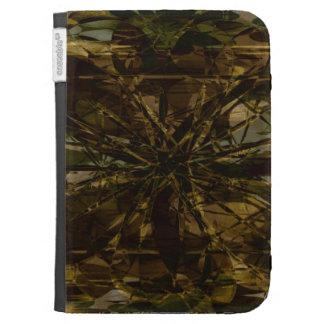 Camo Lover Petal Design Caseable Case Kindle Folio Cases For Kindle