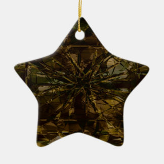 Camo Lover Petal Design Christmas Ornament
