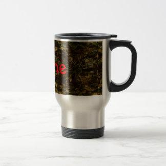 Camo Lover Petal Design Coffee Mugs