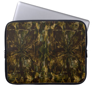 Camo Lover Petal Design Laptop Computer Sleeve