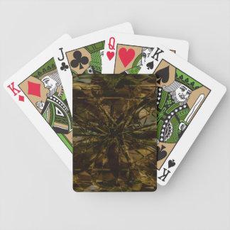 Camo Lover Petal Design - Playing Cards