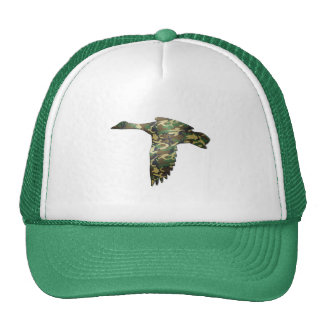 Camo - Mallard Duck in Flight Cap