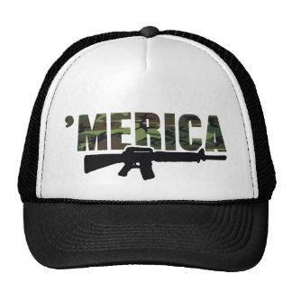 Camo 'MERICA Rifle Hat
