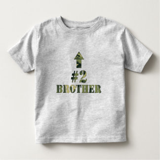 Camo Middle Brother shirt / I'm the #2 brother