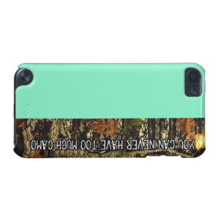 Camo mint green IPod Case