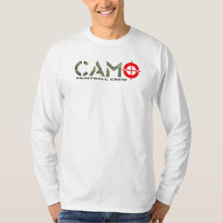 CAMO PAINTBALL CREW T-Shirt