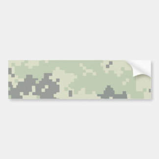 Camo Pale Bumper Sticker