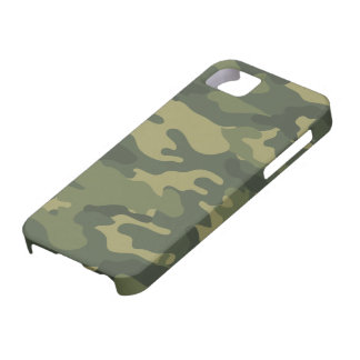 Camo Pattern for hunters or mililtary Case For The iPhone 5