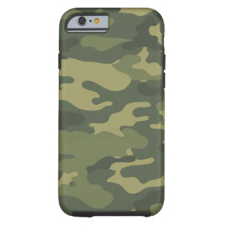 Camo Pattern for hunters or mililtary Tough iPhone 6 Case