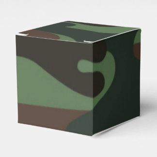 Camo Pattern fun favor box