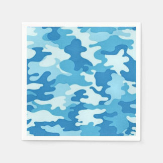 Camo Pattern fun paper napkins