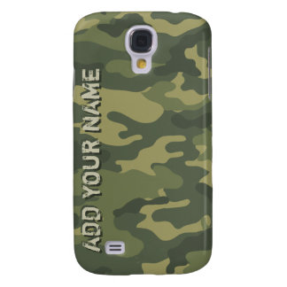 Camo Pattern - Personalize with Your Name Galaxy S4 Case