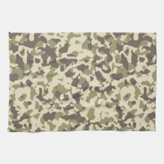 Camo Pattern Tea Towel