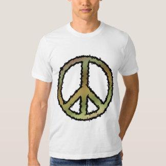 Camo Peace Sign T Shirt