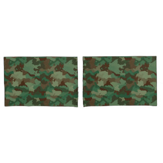 Camo Pillowcase